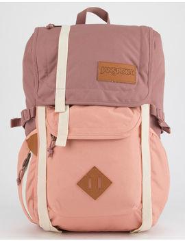 Jansport Hatchet Mocha & Muted Clay Backpack by Jansport
