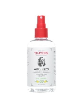 Thayers Witch Hazel Alcohol Free Toner Facial Mist   Cucumber    8 Fl Oz by Thayers Natural Remedies