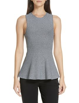 Sleeveless Peplum Top by Theory