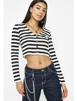Laid Back Striped Top by Wild Honey
