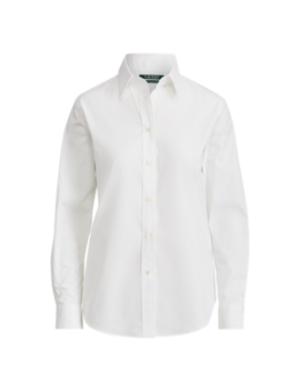 No Iron Stretch Cotton Shirt by Ralph Lauren