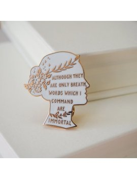 Sappho Enamel Pin   Women Poets Pin Collection  Book Lover   Feminist Pin   Literature Gift   Lapel Pin   Bookish Pin Badge   Lgbt by Etsy
