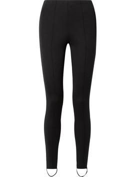 Jogger Stretch Ponte Stirrup Leggings by Balenciaga