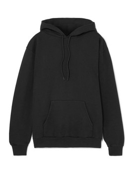 Appliquéd Cotton Blend Hoodie by Balenciaga