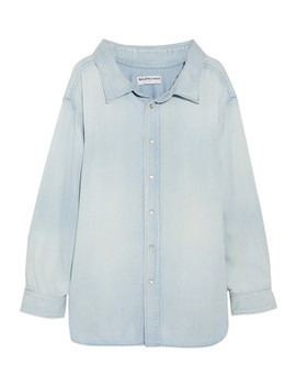 Cotton Chambray Shirt by Balenciaga