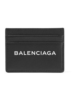 Everyday Printed Leather Cardholder by Balenciaga