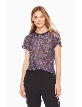 Anna Sequined Top by Parker Ny
