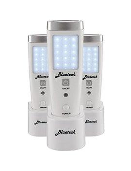 Bluetech Led Flashlight Night Light For Emergency Preparedness, Portable Unit With Motion Detection,Power Failure Light, Etl Approved Blackout Light  3 Pack by Bluetech