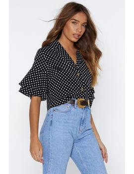 You Dot This Polka Dot Top by Nasty Gal