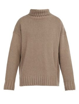 Wool And Cashmere Blend Roll Neck Sweater by Éditions M.R