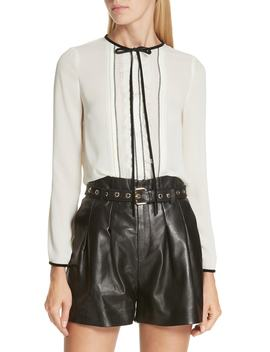 Bow Neck Blouse by Red Valentino