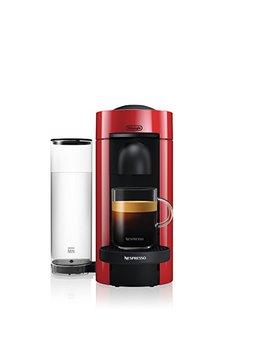 Nespresso Vertuo Plus Coffee And Espresso Maker By De'longhi, Red by De Longhi