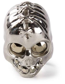 Punk Skull Ring by Alexander Mc Queen