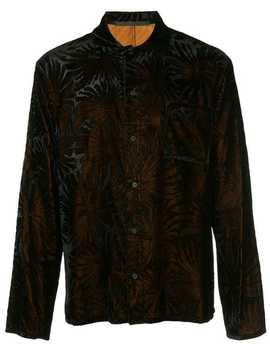 Cynara Jacquard Pyjama Style Shirt by Haider Ackermann