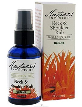 Nature's Inventory   Wellness Oil Organic Neck And Shoulder Rub, 2 Oz. by Nature's Inventory