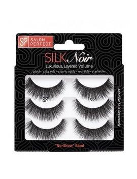 Salon Perfect 651 Silk Lash, 3 Pairs by Salon Perfect