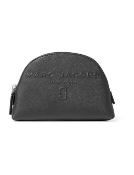 Embossed Textured Leather Cosmetics Case by Marc Jacobs