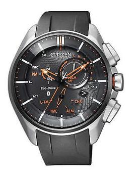 Citizen Bz1041 06 E Watch Black Eco Drive Bluetooth Super Titanium Model Men's by Citizen