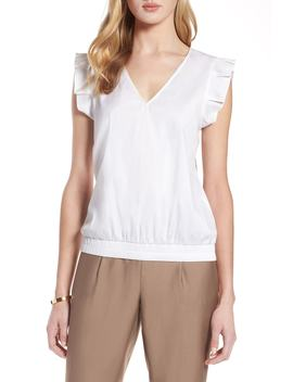 Pleat Sleeve Blouse by Halogen®