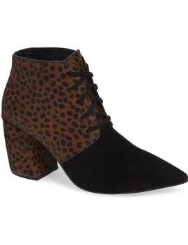 Finito Genuine Calf Hair Bootie by Jeffrey Campbell