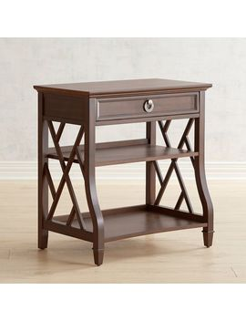 Cafe Brown Nightstand by Thomas Collection