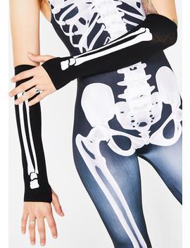 Bone Crusher Fingerless Gloves by Rubies Costume Co Inc