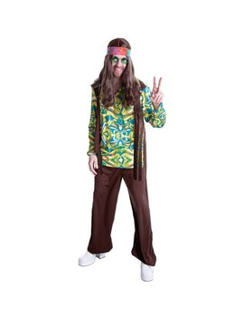 Hippie Men's Adult Halloween Dress Up / Role Play Costume by Walmart Halloween