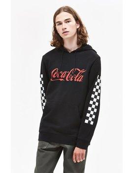Pac Sun X Coca Cola Checker Pullover Hoodie by Pacsun