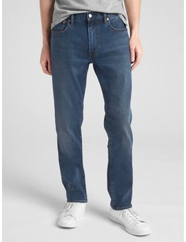 Soft Wear Jeans In Straight Fit With Gap Flex by Gap