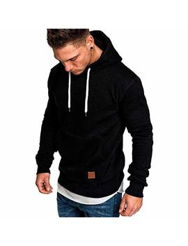 Photno Mens Hooded Sweatshirts,Winter Pullover Tops Tracksuits Outerwear Jackets Sweatshirts Hoodies Men by Photno