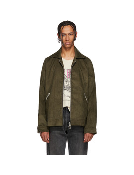 Brown Corduroy Trapper Jacket by Rhude