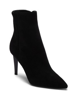 Zoe Suede Pointy Toe Dress Bootie by Kendall & Kylie