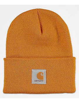Carhartt Watch Hunter Gold Fold Beanie by Carhartt
