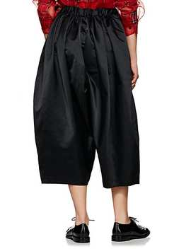 Satin Voluminous Drop Rise Pants by Comme Des Garçons