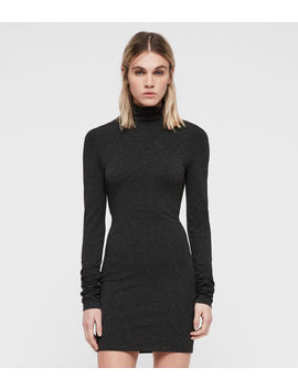 Esme Shimmer Dress by Allsaints