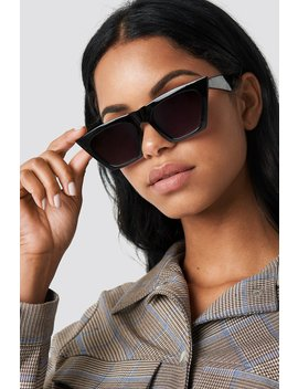 Sharp Square Cateye Sunglasses by Na Kd Accessories