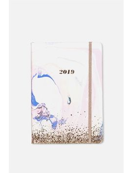 2019 A5 Daily Buffalo Diary by Cotton On