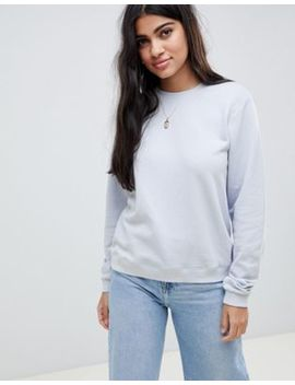Asos Design Ultimate Sweat In Blue by Asos Design