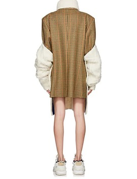 Backless Cable Knit Alpaca Blend Sweater by Maison Margiela