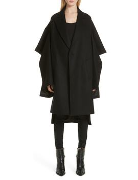 Split Sleeve Wool Blend Coat by Junya Watanabe