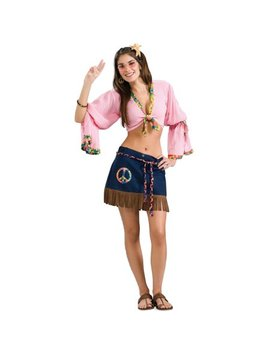 Sexy Hippie Chickie Adult Costume by Decades