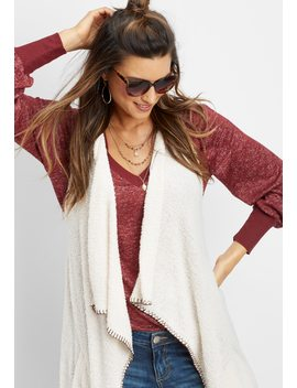 Sherpa Vest by Maurices