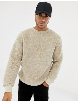 Soul Star Teddy Crew Neck Sweater by Sweater