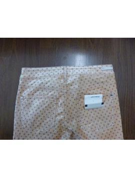 *Nwot Anthropologie Pilcro Peach Velvet High Rise Skinny Ankle Jeans Sz 29 by Anthropologie