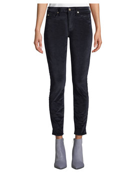 The Ankle Skinny Jeans In Velvet by 7 For All Mankind