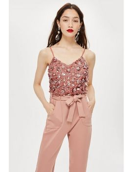 **Sandy Hazel Cami Top By Lace & Beads by Topshop