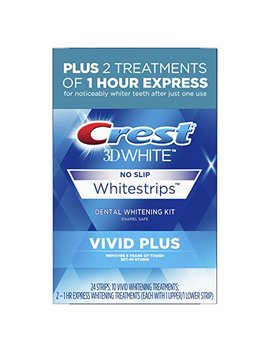 Crest 3 D White Whitestrips Vivid Plus by Amazon
