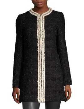 Andreas Tweed Jacket by Alice + Olivia