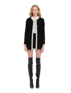 Andreas Crystal Collar Jacket by Alice And Olivia
