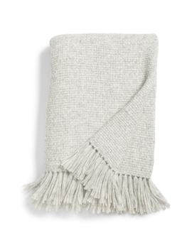 Basket Weave Alpaca Blend Throw Blanket by Jenni Kayne